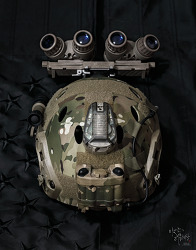 [Helmet] Add on my CAG bucket FMA GPNVG18 ANVIS.