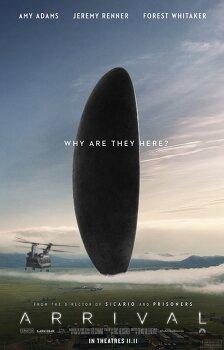 영화 '어라이벌 Arrival', 외계 생명체와 조우한 에이미 아담스