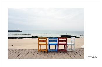 [제주] 월정리 해변 풍경