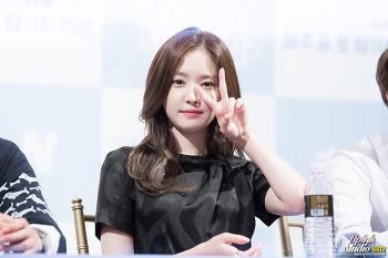 160810 tvN 불금불토스페셜 '신데렐라와 네 명의 기사' 팬미팅 손나은 직찍 By.6412 (1/2)