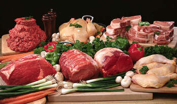 2014 주요 국가별 연간 1인당 육류 소비량 순위