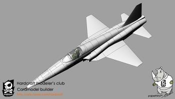 종이모형 F-5E 1:32