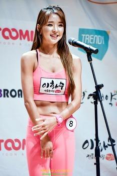 2017 미스섹시백 치어리더 배시연