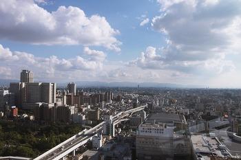일본 - 오사카 교토 여행 : 오사카 주유패스 사용기(츠텐카쿠 전망대)