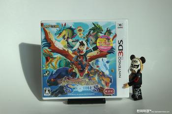 3DS 몬스터헌터 스토리즈 밀봉