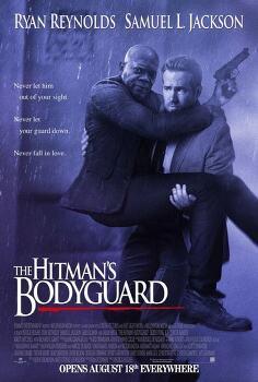 '킬러의 보디가드 The Hitman's Bodyguard, 2017' 사무엘 L. 잭슨을 보호해야 하는 라이언 레이놀즈
