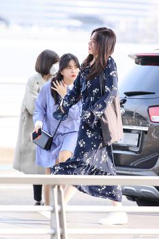 170316 인천공항 레드벨벳 아이린, 예리 출국 직찍