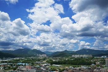 계룡산 - 뭉게구름 (타임랩스)