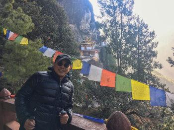 """할리우드 배우 '이연걸'의 부탄 여행 소감···""""부탄이 매우 마음에 든다"""""""
