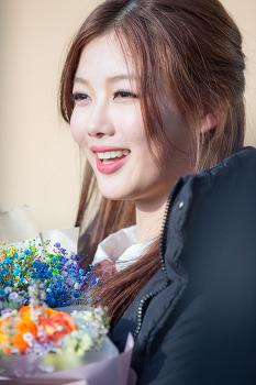 고양예고 연기과 14회 정기공연에 단역 출연한 김유정