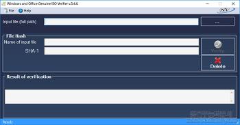 윈도우,오피스 ISO 이미지 검증 도구-Windows and Office Genuine ISO Verifier