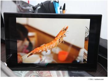 카멜 디지털액자 PF1410IPS 여행사진을 담다. 듀얼모니터 활용까지 14인치 IPS모니터