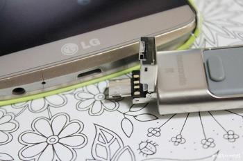 아이폰 USB OTG? 안드포이드폰 USB OTG? 아이폰, 안드로이드폰, PC까지! 이게 진짜 OTG! OTG USB 메모리 ms300i 추천