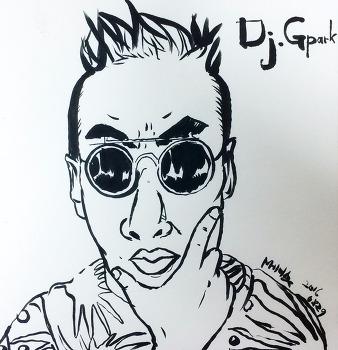 [붓펜]DJ 박명수, 그리다