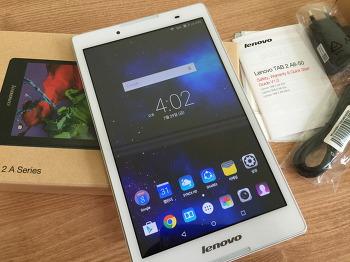 레노버 탭2 A8-50 사용후기 (저렴한 8인치 태블릿, Lenovo TAB2 A8-50 리뷰)