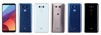 선택 폭 넓어지는 LG G6, 파생폰 G6 32GB, G6 플러스 출시예정