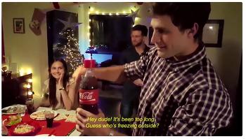 메시지를 녹음할 수 있는 Coca-Cola 병  -  Message in a Coca Cola bottle -