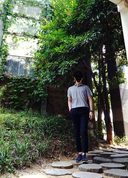[남자 티셔츠 넣어입기] 여름 남친룩 코디 [유니클로] 남자 카라티셔츠 배바지 스타일링