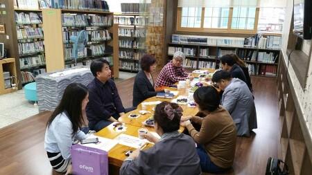 봉림동마을문화협의회 &사림평생교육센터 문화우물포럼을 진행하다