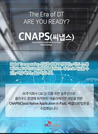 클라우드 네이티브 애플리케이션 개발방법론 'CNAPS(씨냅스)'