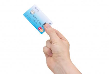 지문인식 신용카드 출현 '지와이프 마스터카드'