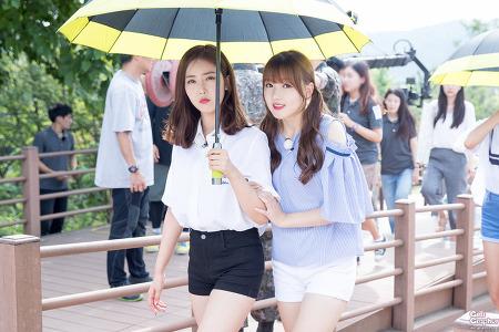 [PHOTO] 160808 DMZ 홍보영상 녹화 - 여자친구 by Girls Grapher