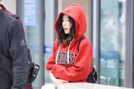 170917 태연 인천공항 입국 직찍