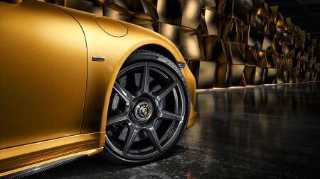 포르쉐, 카본 파이버 휠 만드는 최초의 자동차 회사