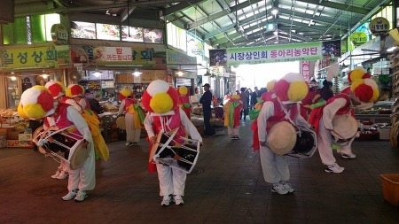 전북고창전통시장 상인동아리 풍물패