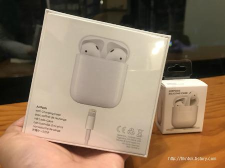 애플 에어팟(AirPods) 엘라고 케이스 개봉기! 에어팟 1주일 사용 상세후기
