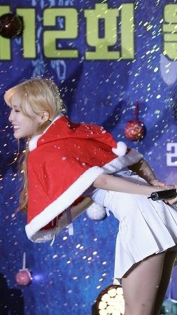 [17.12.24]울산눈꽃축제 홀릭스(HOLICS) 라이키(LIKEY)민아 세로직캠 by RoadRock