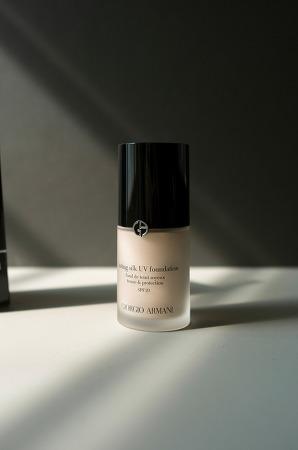 조르지오 아르마니 래스팅 실크 UV 파운데이션 + 립마에스트로 Giorgio Armani lasting silk UV foundation + LipMaestro
