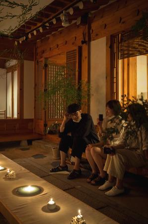 200806 _ 계절15도, 일엽편주 + 김성철작가 '호롱'展 @계동 한옥 '심보'