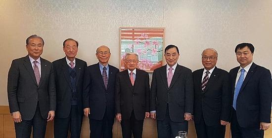 역대 한림원장단, 오찬간담회 개최