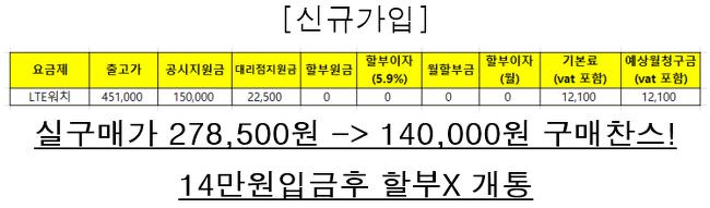 기어 S3프론티어(LTE) 떨이 판매중...?