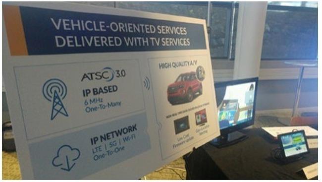 [기사]ATSC 3.0 브로드캐스트 - 연결된 차량 및 자율 차량 데이터 전송