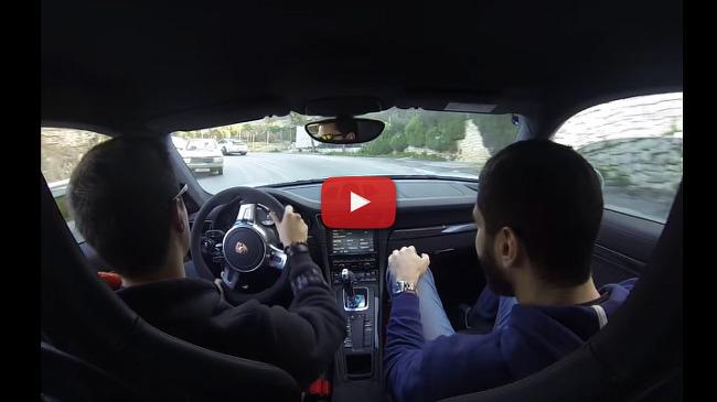 [MOVIE] 목숨을 담보로 즐기는 911 GT3 크레이지 드리프트