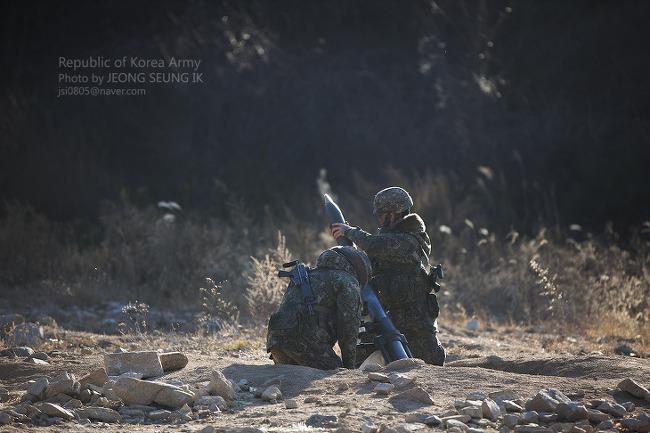 육군 6사단 개천돌진대대, 적 도발 응징사격 훈련 실시