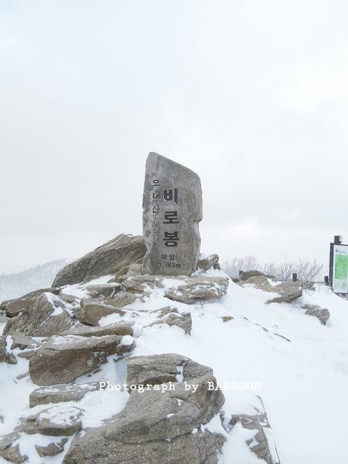 평창 오대산 (2014년 마지막 산행기)