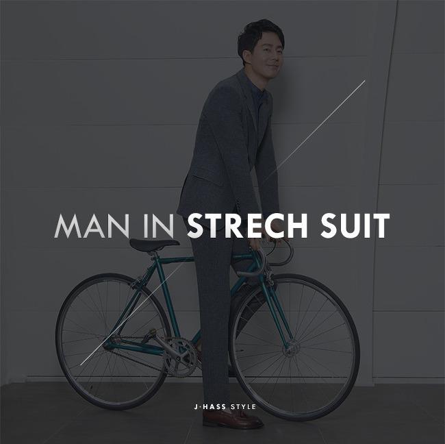[파크랜드 정장]Man In Strech Suit_ 제이하스 스트레치 정장(네이비정장, 그레이정장)
