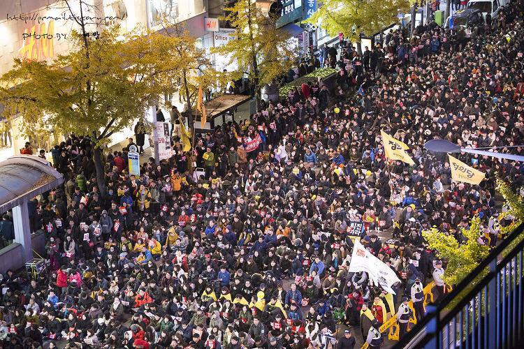 2016-12-03 부산 시국대회 5차 [서면]
