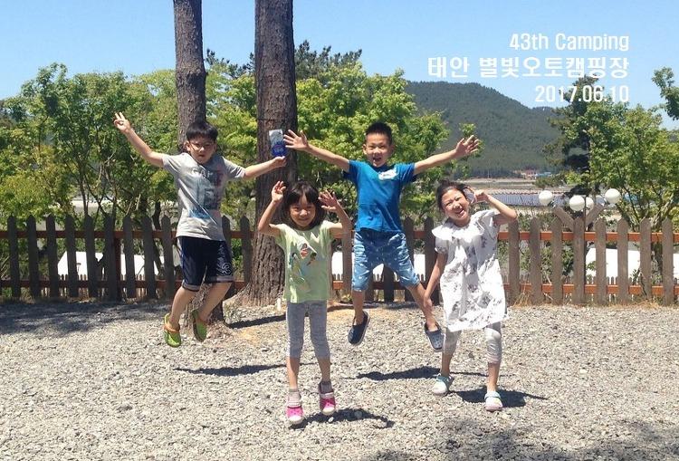 [43rd Camping] 태안별빛캠핑장에서의 다섯 가족  캠핑