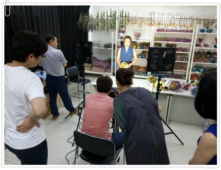 J&U 그룹 제이페이머신 홍보 촬영