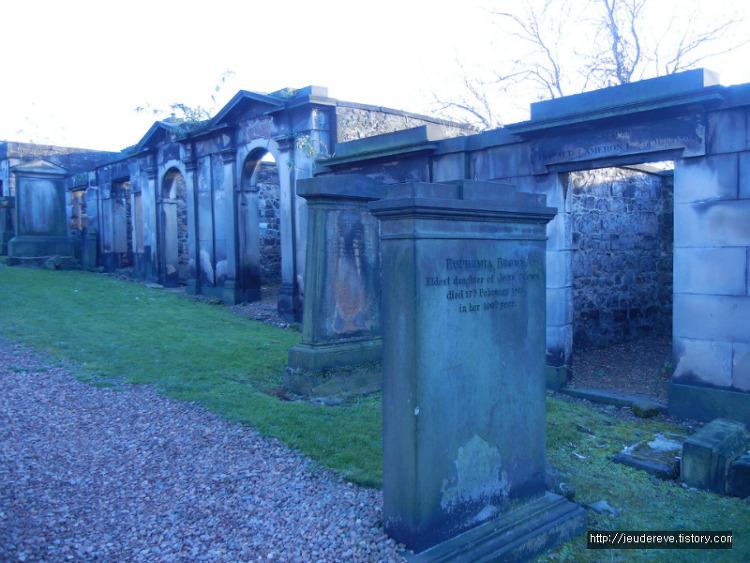 Old Calton Cemetery(Edinburgh, Scotland)