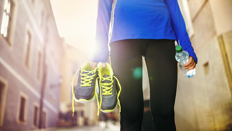 다이어트를 도와주는 스마트 운동화