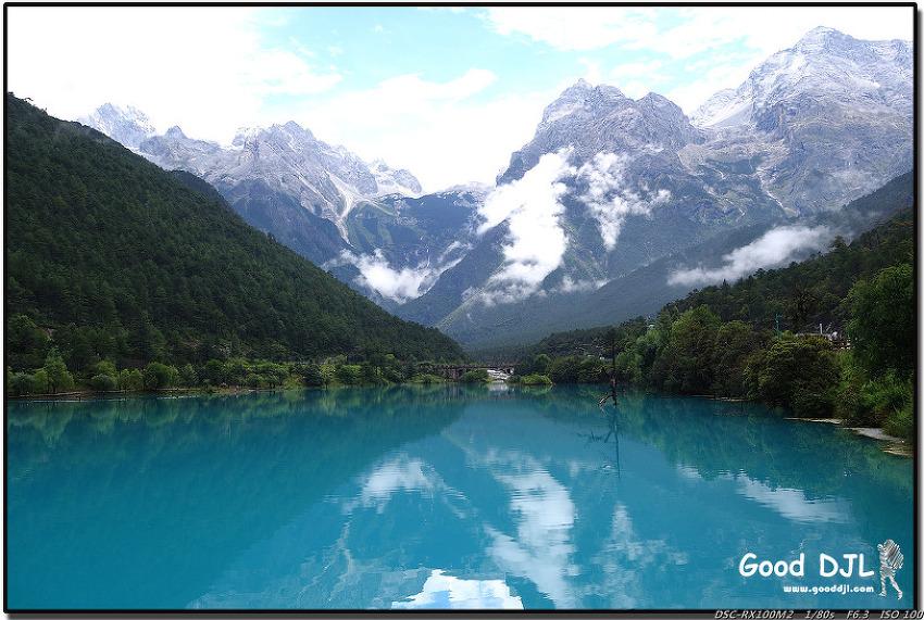 두 형제의 중국 여행기 - 21. 푸른 빛의 영롱한 옥룡설산. (중국 - 리장)