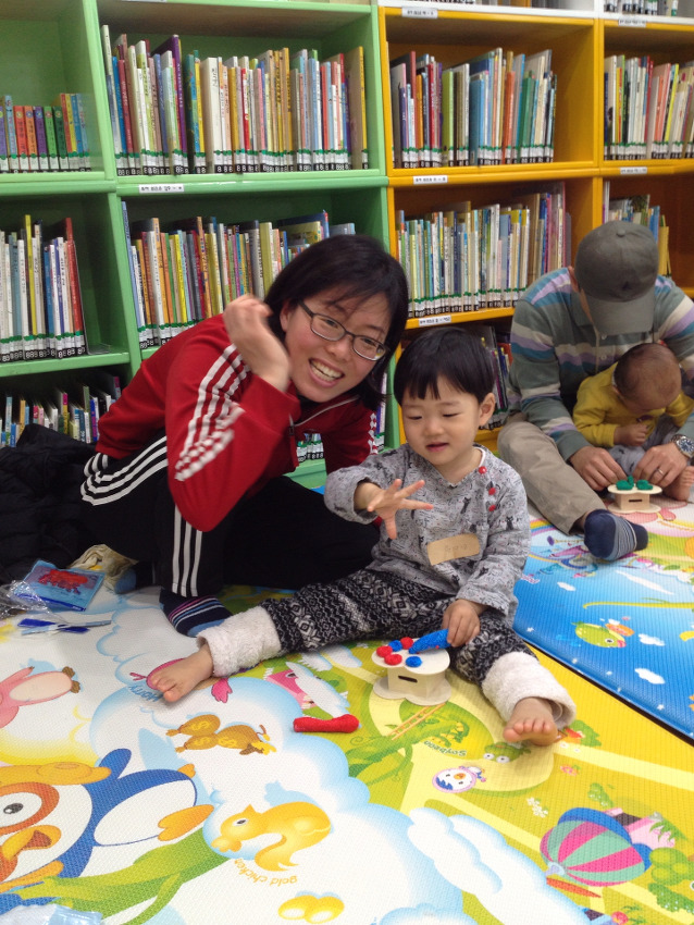 람이 도서관 나들이(1)