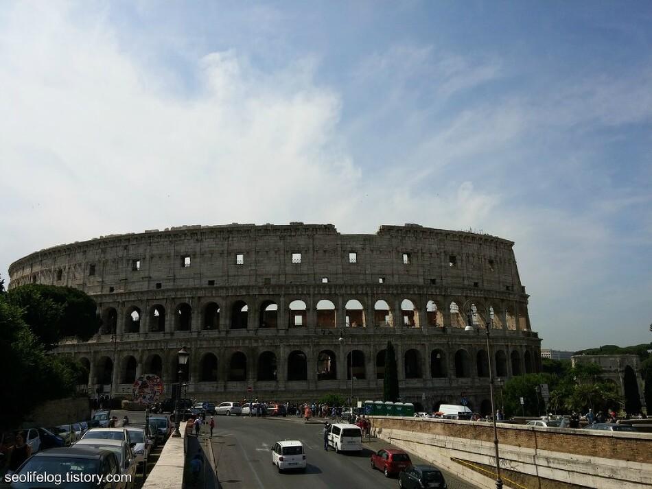 [유럽 '자동차 순례' 여행] Part 2: 로마 2일차 - 콜로세움 + 로만 포럼 등등