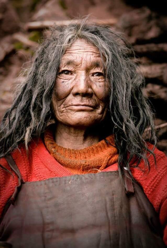 청결하지 못한 어느 티베트 불교 수행자