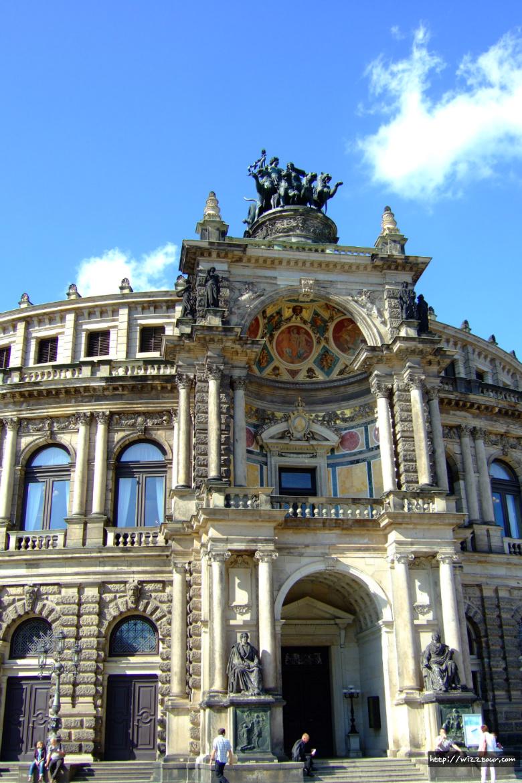 독일 드레스덴 젬퍼 오페라 하우스